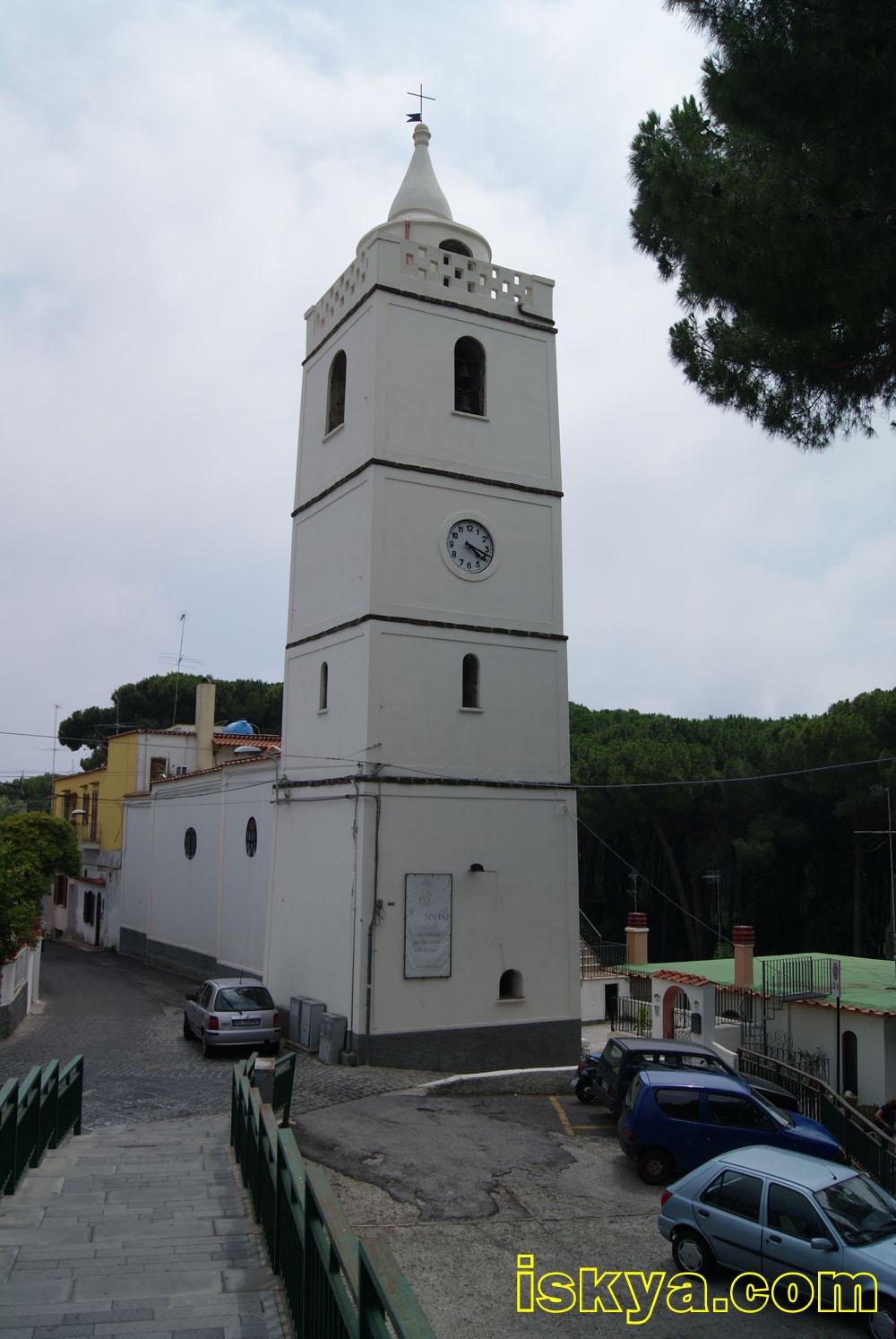 Chiesa di san giuseppe e sant 39 anna isola d 39 ischia - Divo santa maria a monte ...