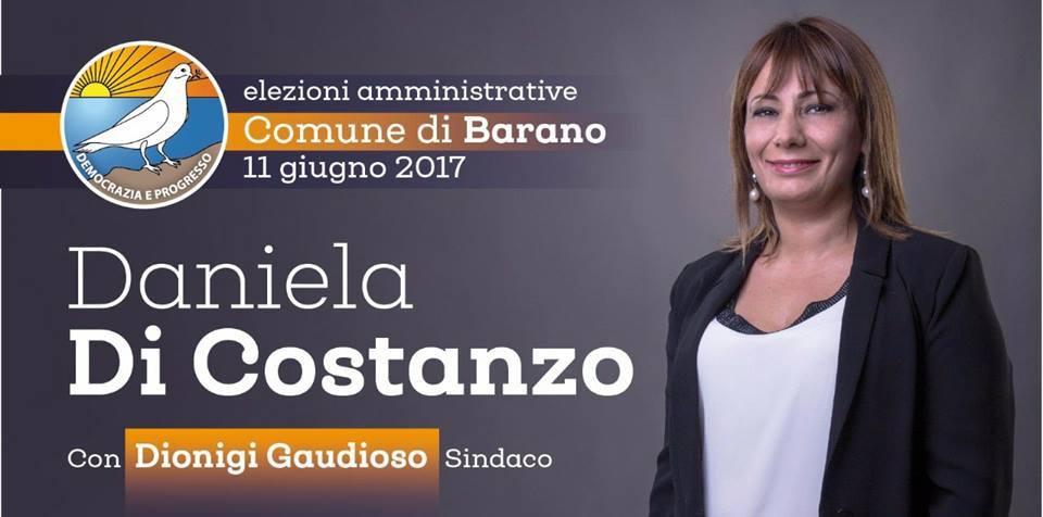 Risultati elettorali barano 11 06 2017 isola d 39 ischia for Daniela costanzo